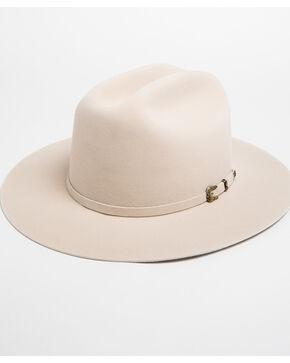 Justin Men's Black 15X Newman Cowboy Hat , Ivory, hi-res