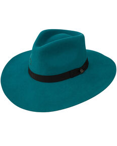 Charlie 1 Horse Women's Highway Wool Hat, Teal, hi-res