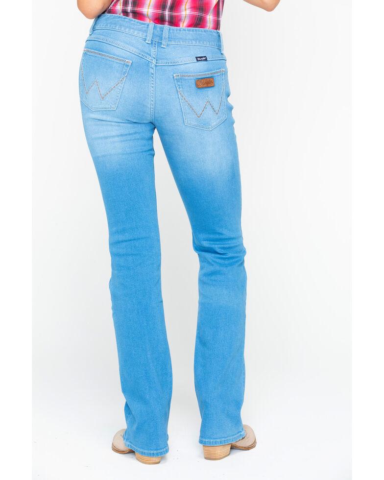 Wrangler Retro Women's Mae Light Mid Boot Jeans , Blue, hi-res