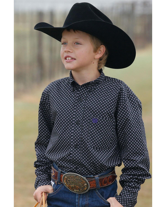 youth cowboy shirts