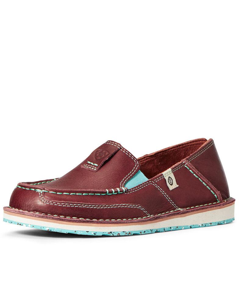 Ariat Women's ECO Cruiser Shoes - Moc Toe, Brown, hi-res