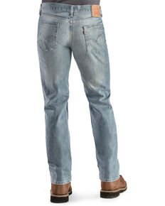 Levi's Men's 514 CU Heavyweight Regular Straight Leg Jeans , Med Wash, hi-res