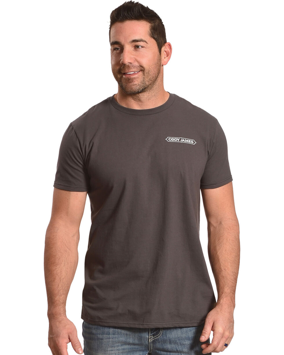 Cody James Men's Ace In The Hole Tee, Grey, hi-res