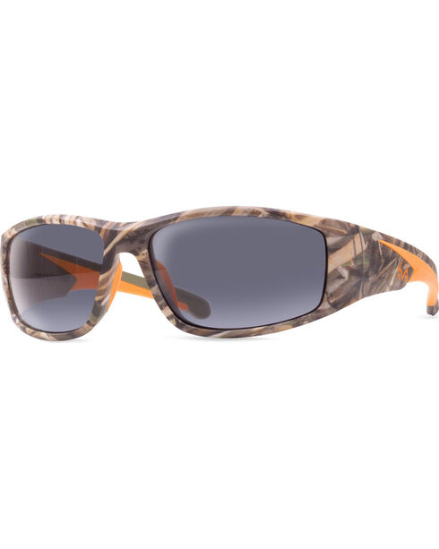 Realtree Men's Max-5® Camouflage Razorback Safety Glasses, Camouflage, hi-res
