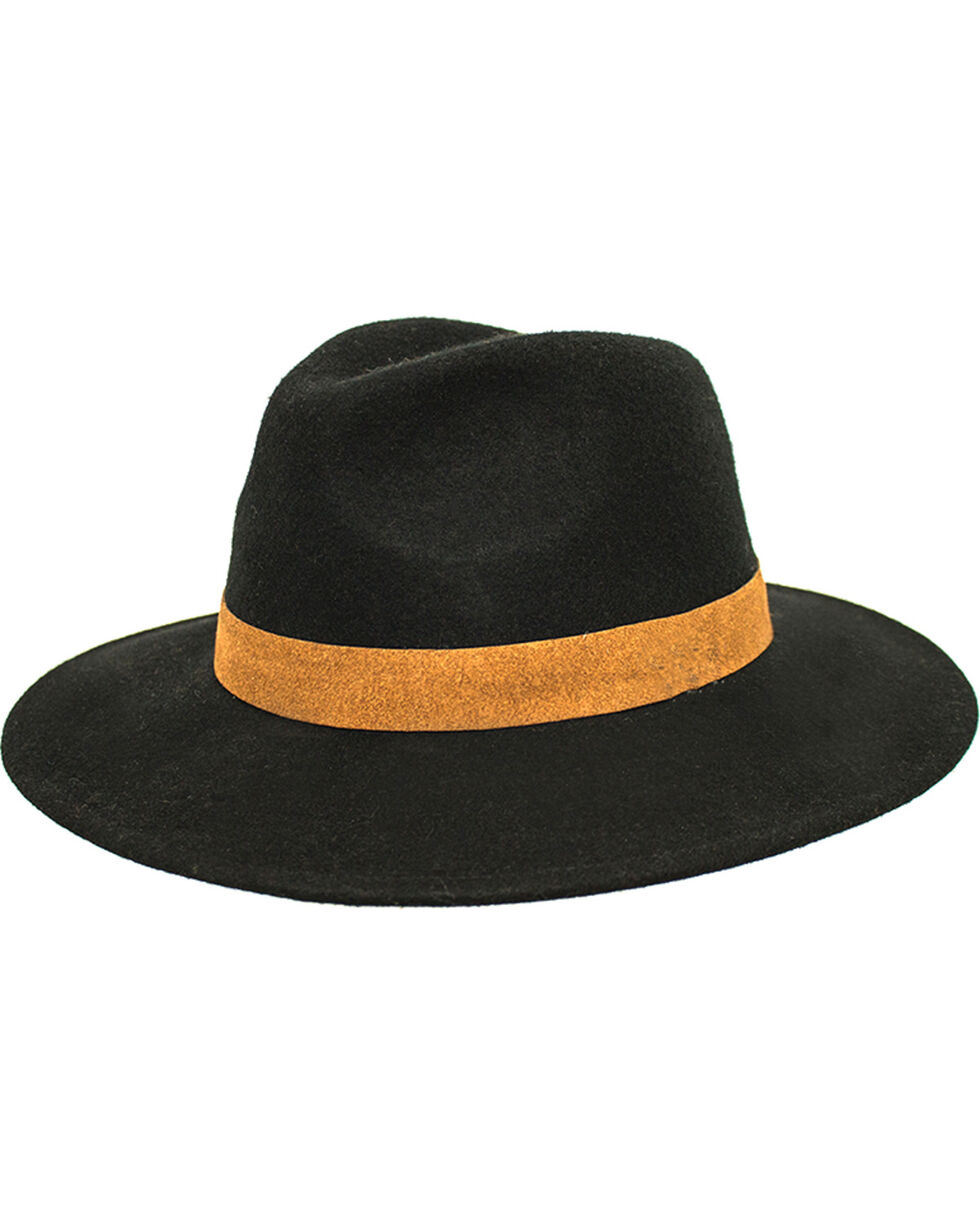 Peter Grimm Women's Greece Fedora, Black, hi-res