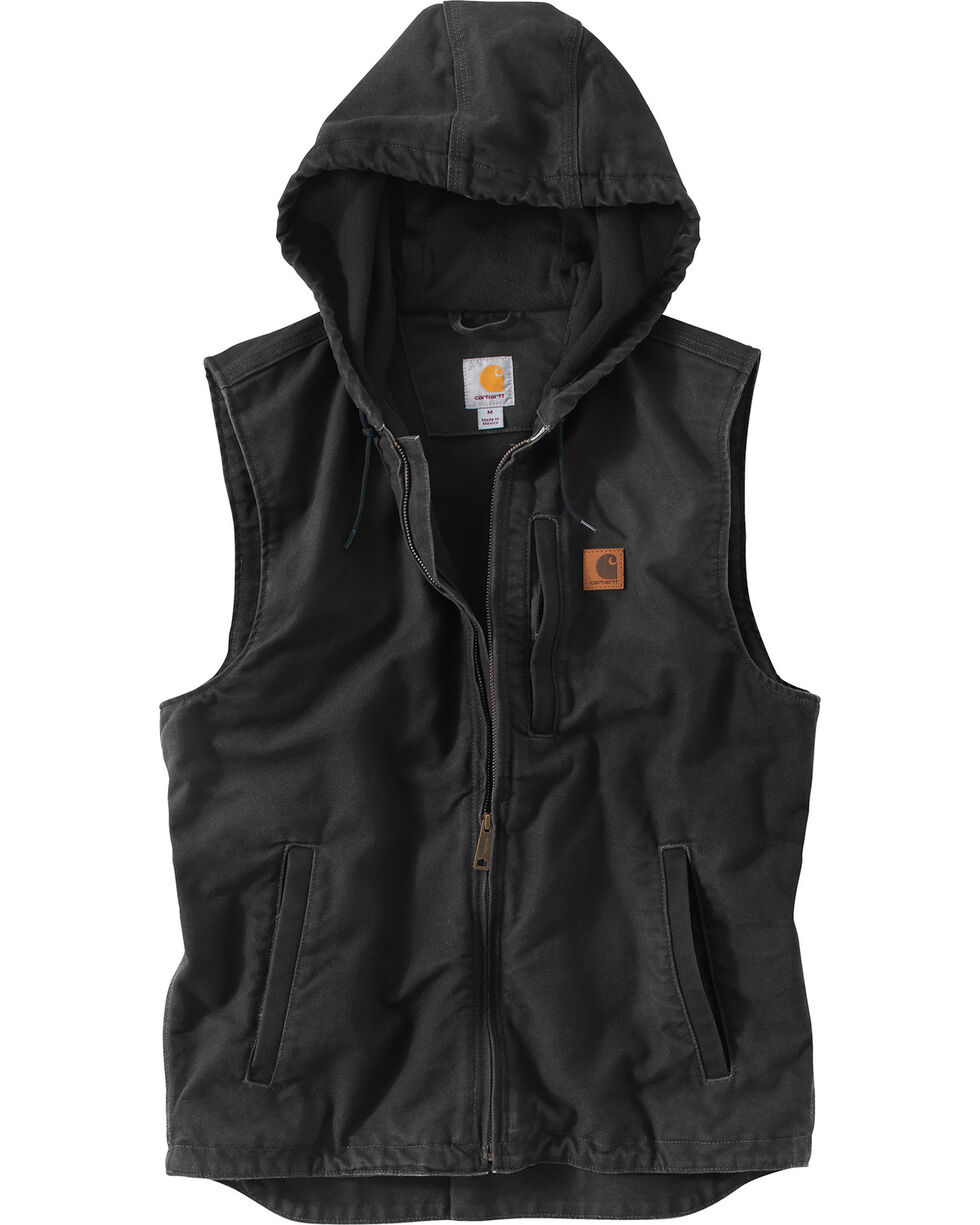Carhartt Men's Black Knoxville Vest - Big & Tall , Black, hi-res