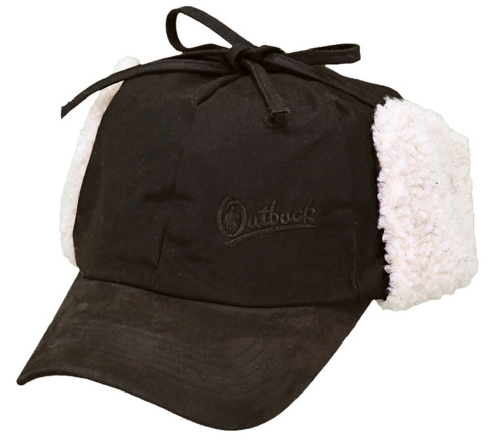 Outback Trading Co. Oilskin Mckinley Cap, Brown, hi-res