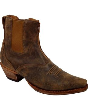 Twisted X Steppin' Out Side Gore Cowgirl Boots - Snip Toe, Tan, hi-res