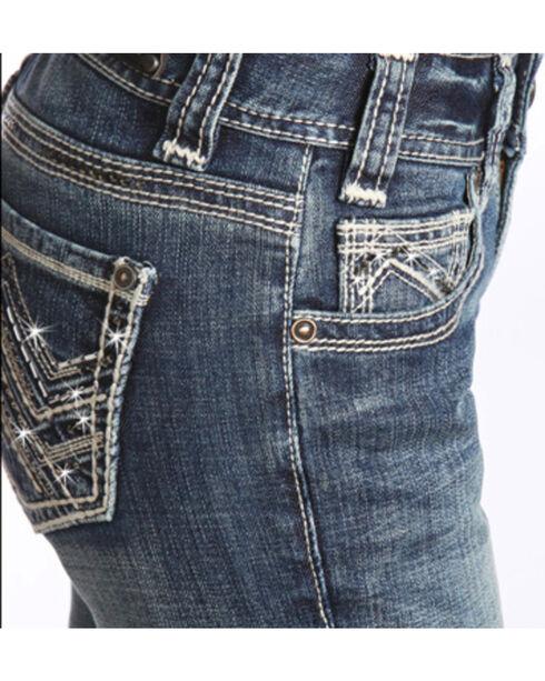 Rock & Roll Cowgirl Women's Mid Rise Skinny Jean, Indigo, hi-res