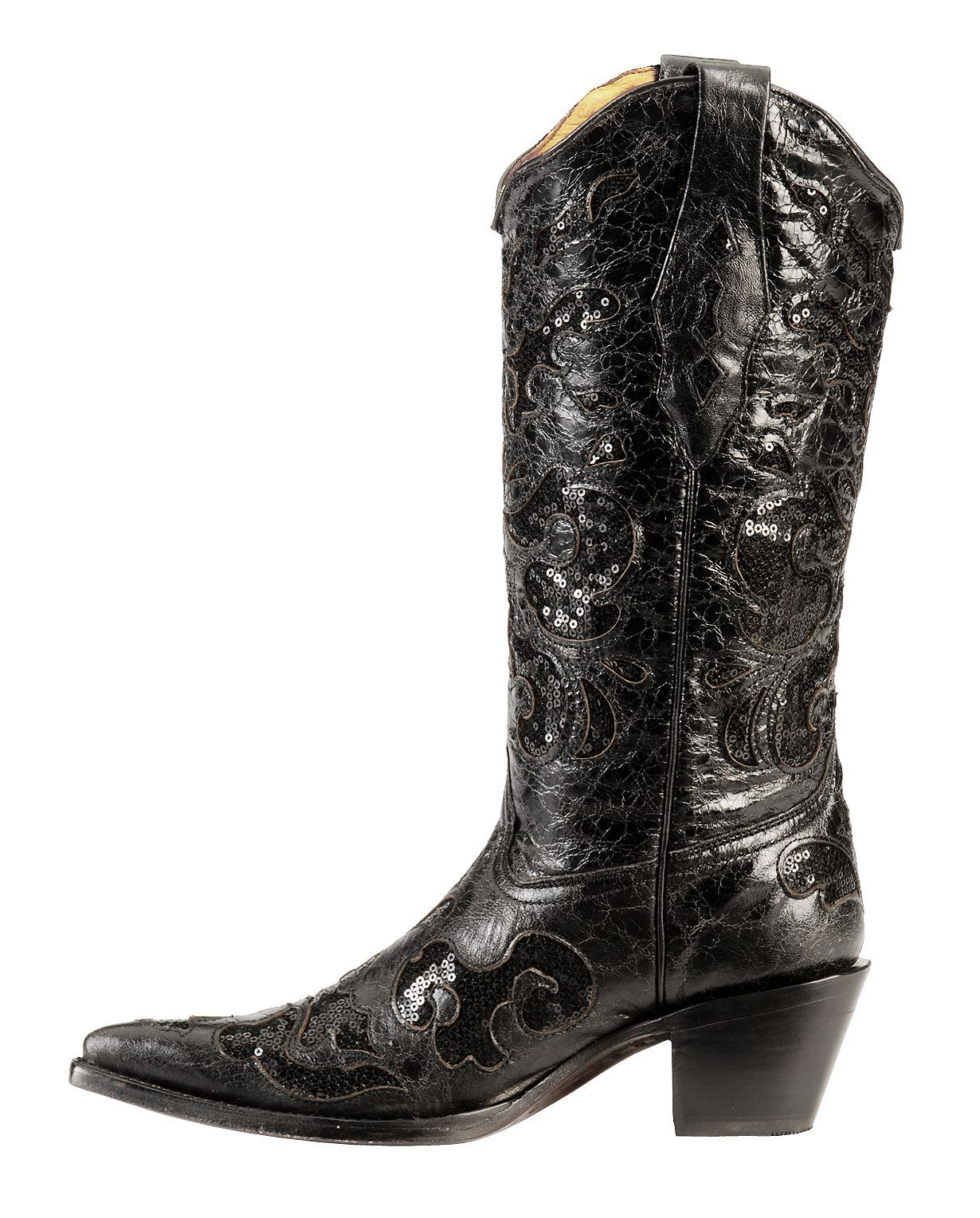 Corral Sequin Inlay Cowgirl Boots