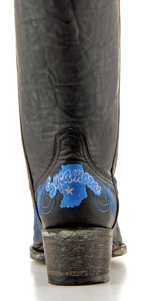 Gameday Indiana State University Cowgirl Boots - Pointed Toe, , hi-res