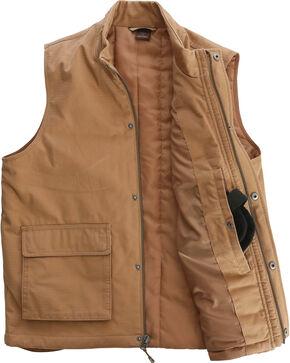 Wrangler Men's RIGGS Workwear Foreman Vest - Big & Tall, Tan, hi-res