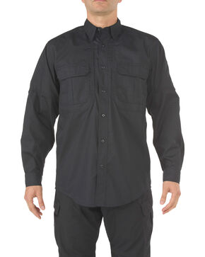 5.11 Tactical Taclite Pro Long Sleeve Shirt - Tall Sizes (2XT and 5XT), Black, hi-res