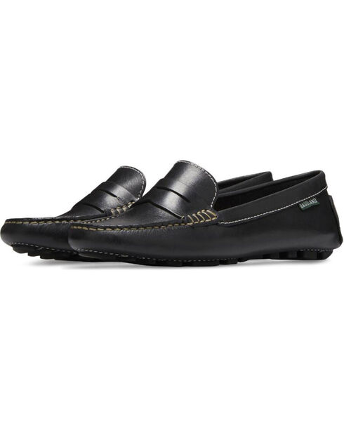 Eastland Women's Black Patricia Penny Loafers , Black, hi-res