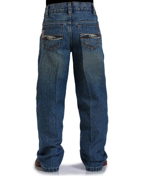 Cinch Boys' Indigo Tanner Adjustable Jeans - Straight Leg , Indigo, hi-res