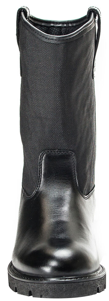 Rocky Pull On Wellington Boots - Round Toe, Black, hi-res