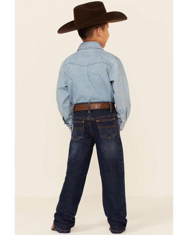 Cinch Boys' White Label Demin Straight Leg Jeans - 4-7, Denim, hi-res
