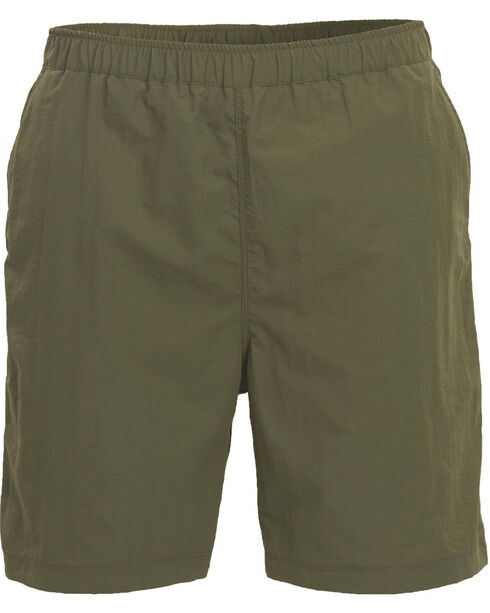 Woolrich Men's Wading Waters Solid Swim Trunks, Green, hi-res