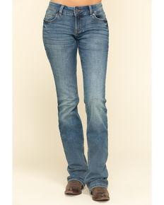 Wrangler Women's Medium Delilah Bootcut Jeans , Blue, hi-res