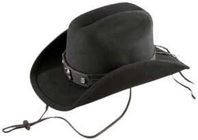 Bullhide Kids' Horsing Around Wool Felt Cowboy Hat, Black, hi-res