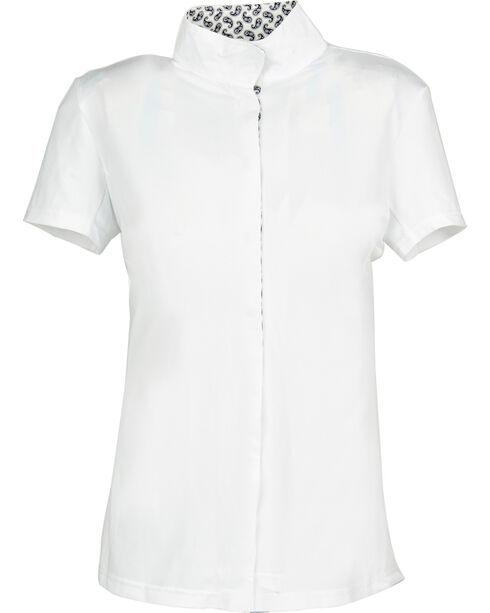 Dublin Women's Coolmax Short Sleeve Show Shirt, Paisley, hi-res