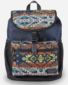 Pendleton Women's Front Journey Explorer Rucksack, Blue, hi-res
