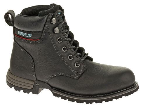 Caterpillar Women's Freedom Work Boots - Steel Toe, Black, hi-res