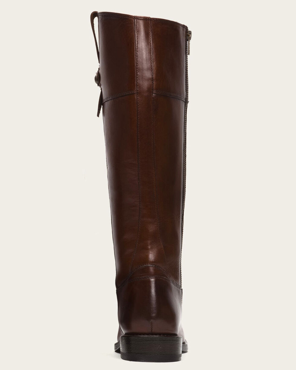 Frye Women's Redwood Jayden Button Tall Boots - Round Toe , Mahogany, hi-res