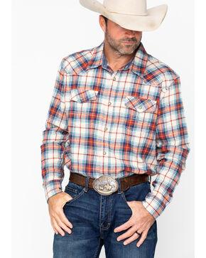 Cody James Men's Nome Flannel Long Sleeve Shirt , Blue, hi-res