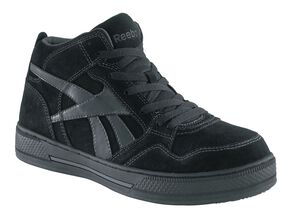 Reebok Women's Dayod High Top Skate Shoes - Composite Toe, Black, hi-res