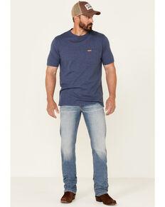 Moonshine Spirit Men's Grant Medium Wash Stretch Slim Straight Jeans , Blue, hi-res