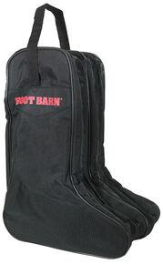 Boot Barn® Nylon Logo Boot Bag, Black, hi-res