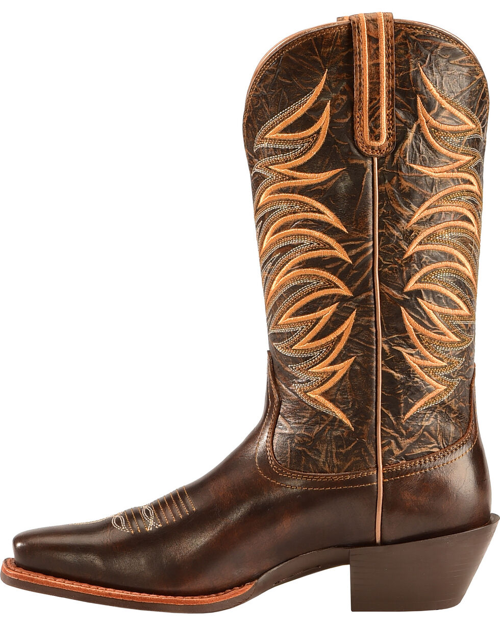 Ariat Legend Legacy Cowgirl Boots - Square Toe , Tan, hi-res