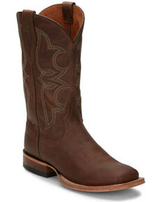 Tony Lama Women's Naomi Sandy Western Boots - Square Toe, Brown, hi-res