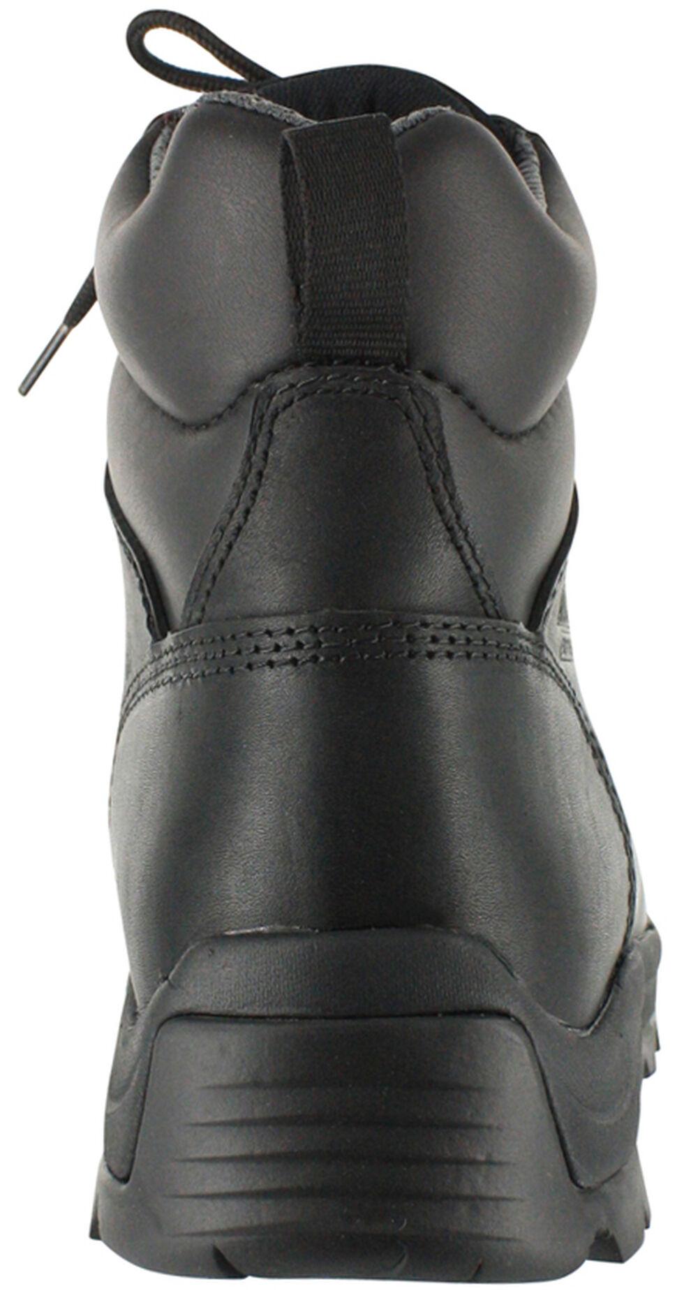 American Worker Men's Stealth Work Boots - Composite Toe, Black, hi-res