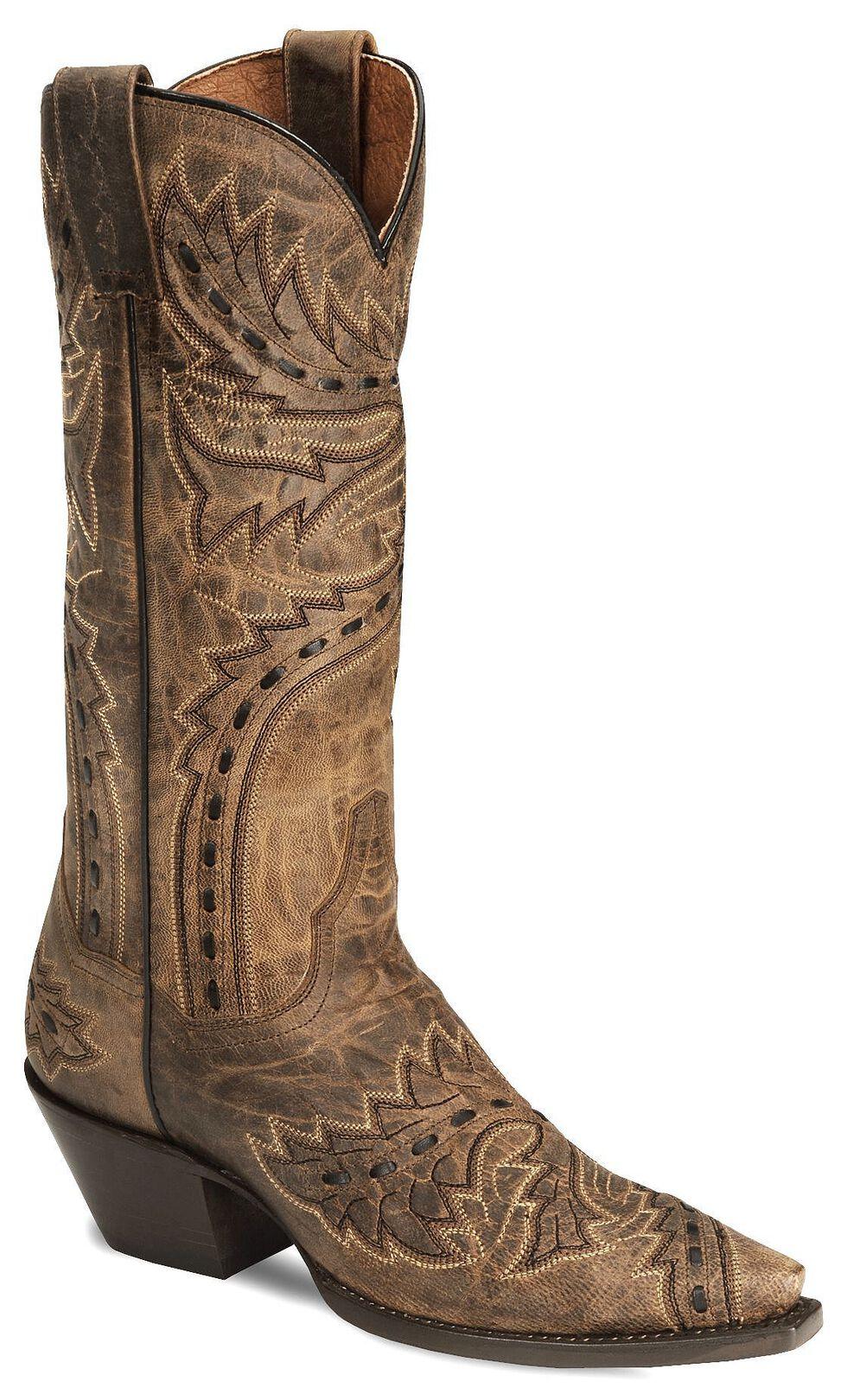Dan Post Sidewinder Mad Cat Cowgirl Boot - Snip, Tan, hi-res