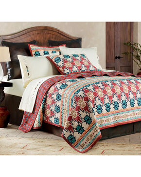 HiEnd Accents 2-Piece Phoenix Twin Quilt Set, Multi, hi-res