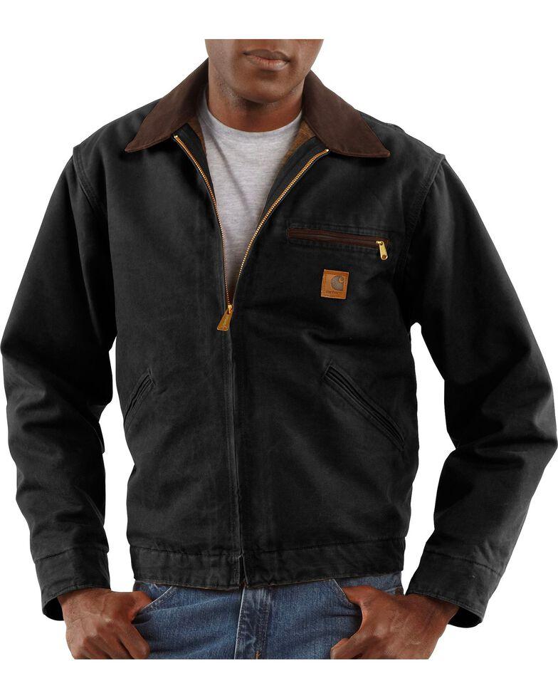carhartt sandstone detroit work jacket sheplers. Black Bedroom Furniture Sets. Home Design Ideas