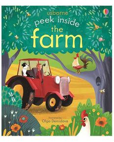 Usborne Peek Inside The Farm Children's Book, Multi, hi-res