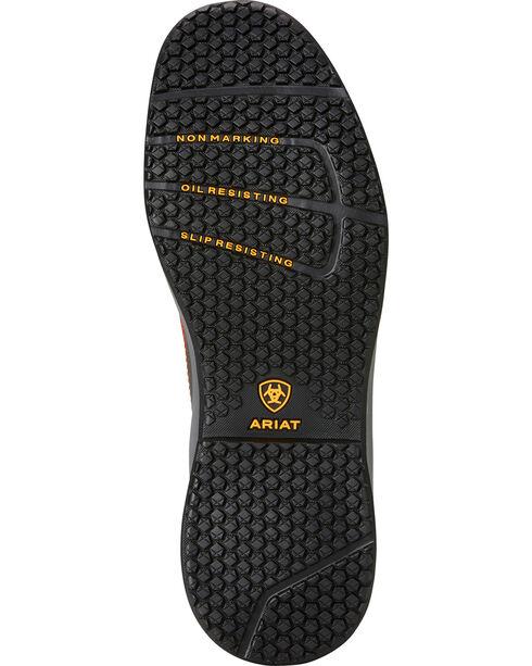 Ariat Men's Grey Contender Work Boots - Soft Toe, Grey, hi-res