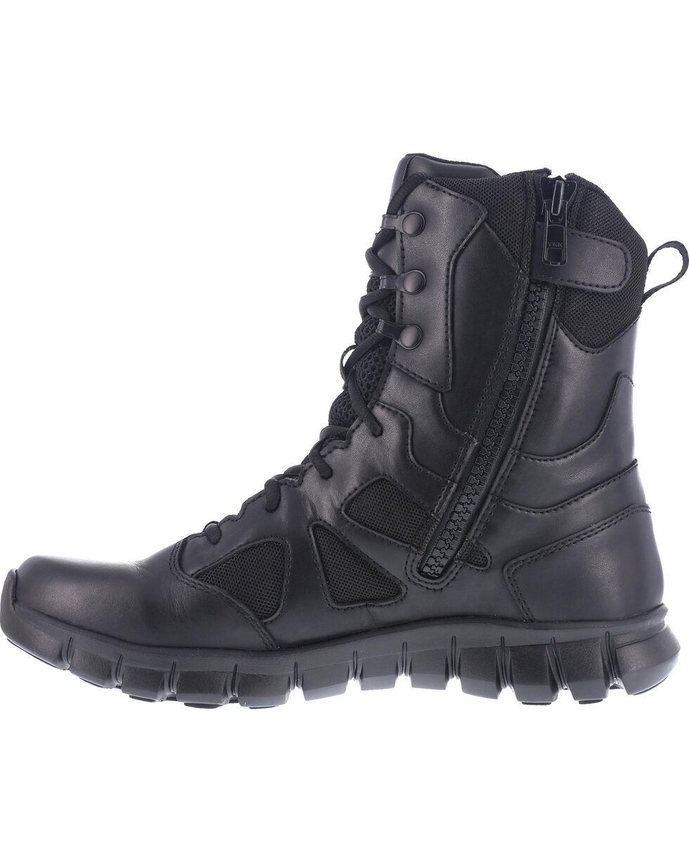 "Reebok Women's 8"" Sublite Cushion Tactical Boots, Black, hi-res"