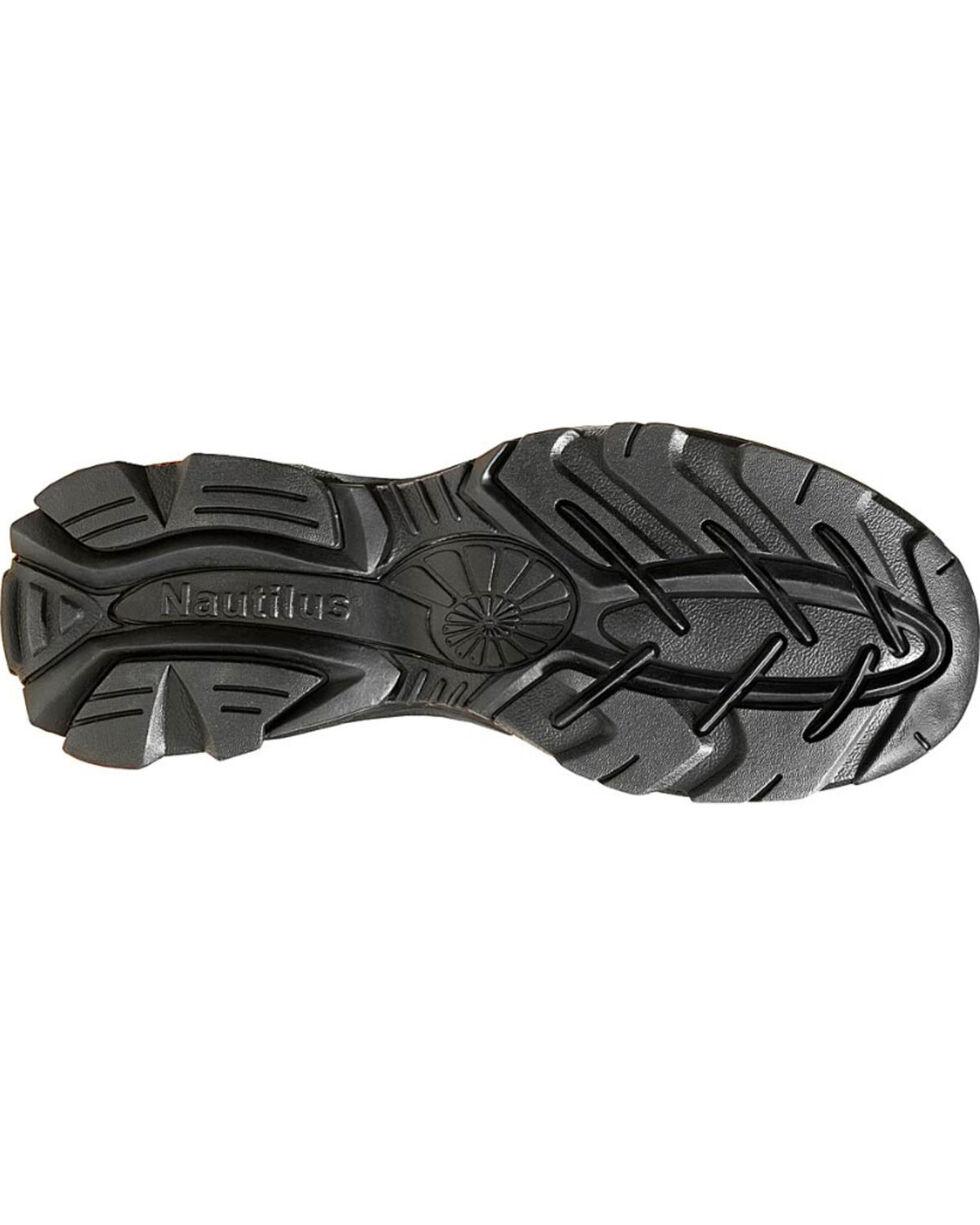 Nautilus Women's ESD Slip On Work Shoes, Brown, hi-res