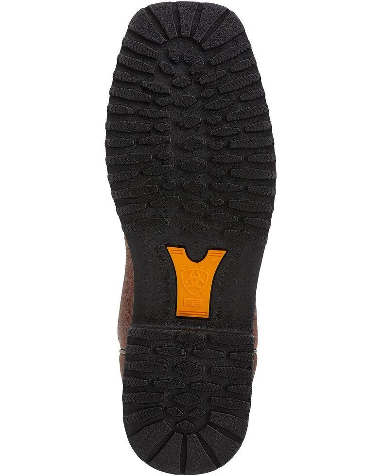 Ariat RigTek Waterproof Work Boots - Composite Toe, Brown, hi-res