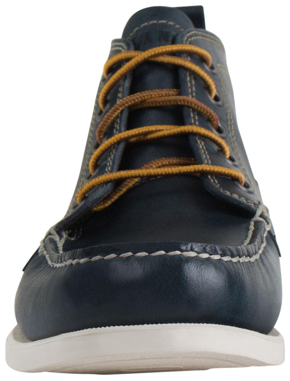 Eastland Men's Navy Seneca Camp Moc Chukka Boots, Navy, hi-res