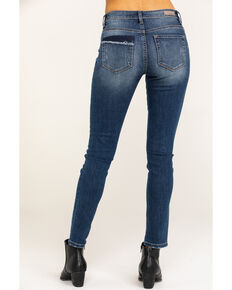 Miss Me Women's Distressed Skinny Jeans, Blue, hi-res