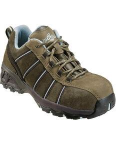 Nautilus Women's Electrical Hazard Athletic Work Shoes - Composite Toe , Green, hi-res