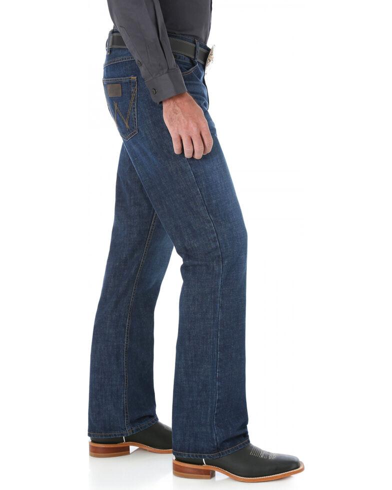 Wrangler 20X Dillon Straight Leg Jeans - Slim Fit - Big and Tall, Denim, hi-res