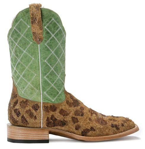Cinch Classic Atilla Invision Cowgirl Boots - Square Toe, Tan, hi-res