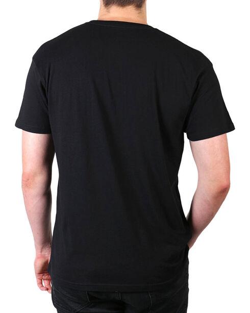 Brothers & Arms Men's Black Single Barrel T-Shirt , Black, hi-res