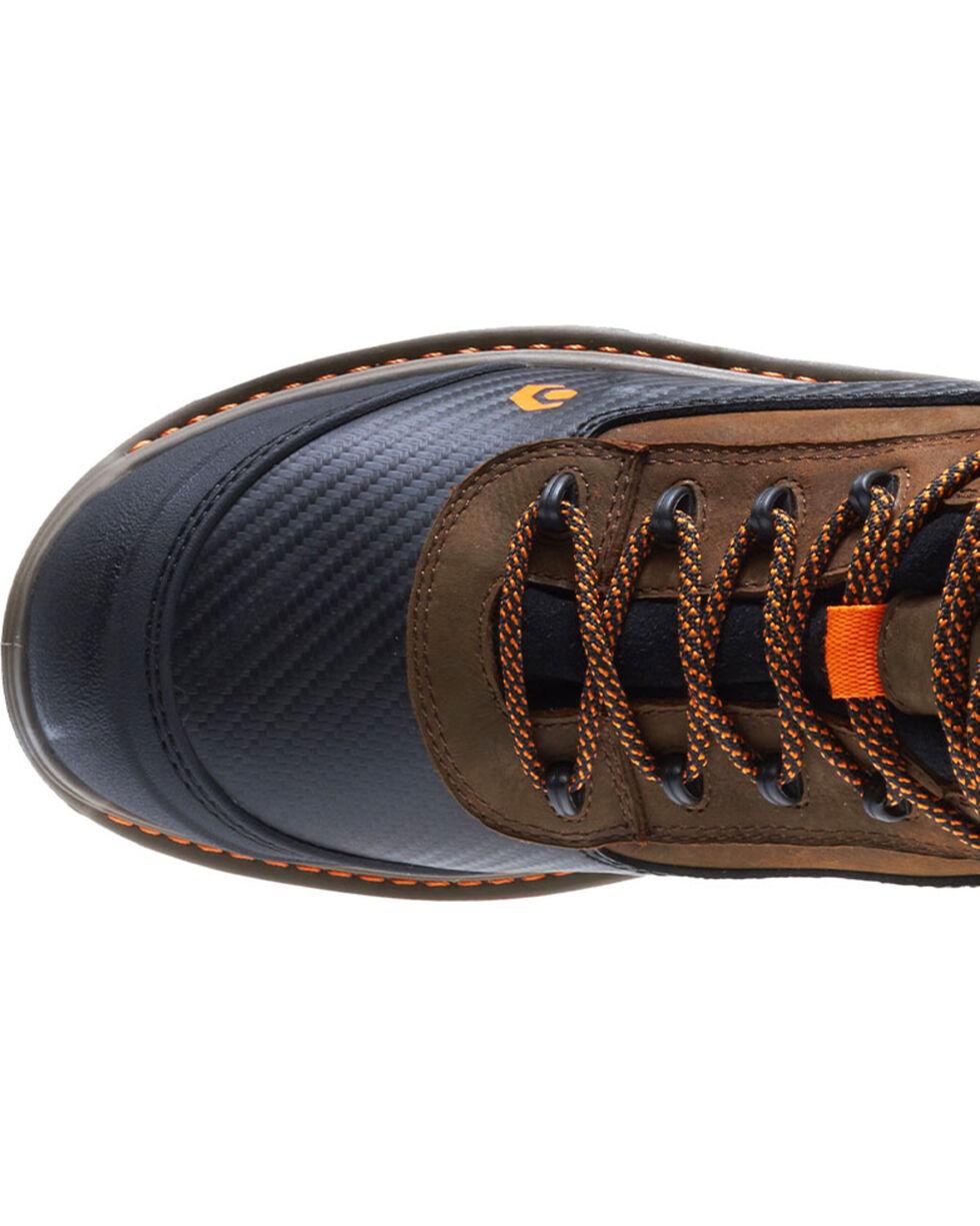 """Wolverine Men's Brown Overpass Carbonmax 6"""" Waterproof Boots - Composite Toe , Brown, hi-res"""